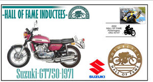 SUZUKI MOTORCYCLE HALL OF FAME COV, 1971 GT750