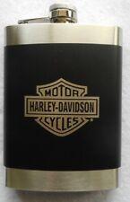 Harley Davidson 8oz Stainless Steel Hip Flask