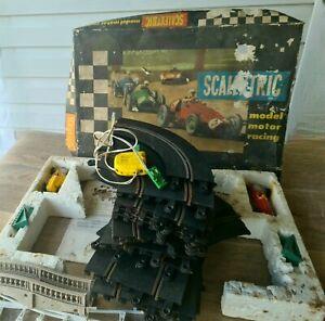 Vintage Scalextric Model Motor Racing Complete - Vintage Slot Car - EXCELLENT