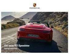 RAR VIP Hardcover Prospekt brochure Porsche 911 991 Speedster & Heritage RAR