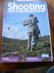 JOB LOT X 8 SHOOTING AND CONSERVATION 2013 2014 BASC MAGAZINES