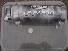 Tsunami Farad 1.2 car audio speaker capacitor USED battery 20VVCD 95C