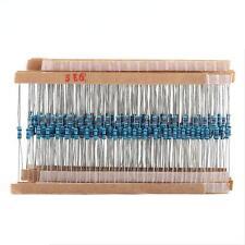 1280pcs 1/4W 64 Values 1-10M ohm Metal Film Resistors Assortment Components Kit