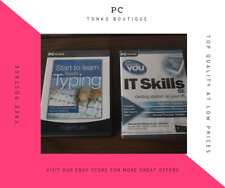 PC CD-Rom - Teaching-You IT Skills + Start To Learn Touch Typing - Basics