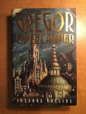SUZANNE COLLINS Signed Gregor the Overlander FIRST EDITION Hunger games