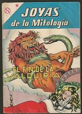 Joyas De La Mitologia Valquiria Nº 11 Comic Spanish Mexican Novaro