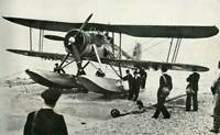 OLD LARGE PHOTO AVIATION HISTORY The Fairey Swordfish Seaplane 1941