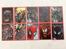 10 FIGURINE ADESIVE SPIDER-SENSE SPIDER-MAN  PANINI MARVEL lot 59