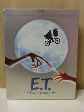Steven Spielberg - E.T. - THE EXTRA-TERRESTRIAL (1982, Blu-Ray) STEELBOOK CASE!!
