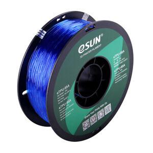eSUN Filament | TPU-95A Klar Blau (1.75mm/1kg)