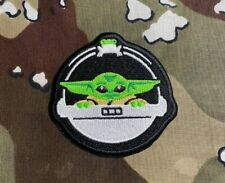 Baby Yoda Embroidered Patch B058P The Child Mandalorian Star Wars Boba Fett