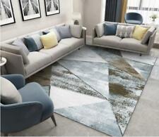 3D Gray Brown Triangle Non-Slip Rug Door Shower Play Mat Hearth Floor Carpet 230