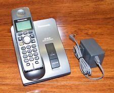 Panasonic (KX-TG6021) 5.8 GHz Single Line Cordless Phone With Power Supply