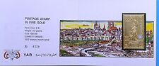 NORTH YEMEN JEMEN YAR 1970 1248 B Bauwerke Olympics 1972 Munich GOLD Folder
