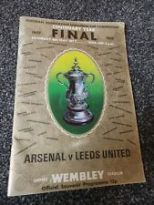 Football Programme - FA Cup Final 1972 Arsenal V Leeds United (RZ)