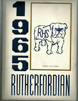 Rutherford New Jersey High School 1965 YEARBOOK RUTHERFORDIAN