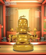 Homer Simpson Golden Buddha Vinyl Figure The Simpsons Loot Crate Exclusive