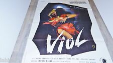 VIOL ! affiche cinema vintage erotique