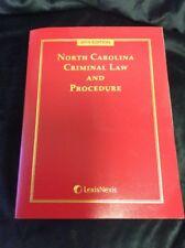 LexisNexis 2015 New North Carolina Criminal Law and Procedure Free Shipping