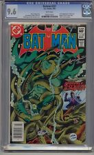 BATMAN #357 CGC 9.6 1ST FULL KILLER CROC & 1ST JASON TODD ROBIN NEWSSTAND