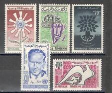 R5266 - TUNISIA 1962 - LOTTO ** TEMATICI - VEDI FOTO