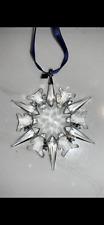 Absolutely Beautiful 2002 Swarovski Crystal Christmas Ornament