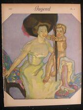 Jugend magazine 1910 Jugendstil Art Nouveau Rieth Weisgerber Kley Arnold