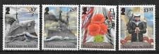 FALKLAND ISLANDS SG1300/3 2014 CENTENARY BATTLE OF THE FALKLANDS MNH