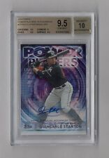 MIKE GIANCARLO STANTON 2014 TOPPS UPDATE POWER PLAYERS AUTO #12/25 BGS 9.5 10