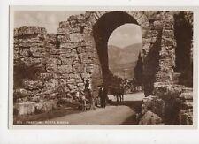 Paestum Porta Sirena Italy Vintage RP Postcard 126b