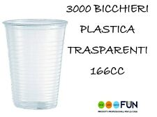 Conf da 100 Bicchieri Major trasparenti 166 cc