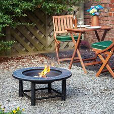 "30"" Fire Pit with Tiled Ceramic Table Guadeloupe by Fire Mountain"