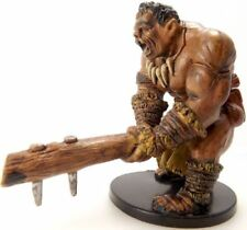 D&D Mini - HILL GIANT BARBARIAN  #49  (War Drums Series - and UNUSED with CARD!)