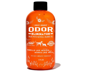 Angry Orange Pet Odor Eliminator for Dog and Cat Urine, Makes 1 Gallon New