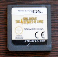 Game final fantasy the 4 heroes of light for nintendo ds (cartridge only)