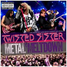 Twisted Sister - Metal Meltdown - New DVD/Blu-ray/CD Album