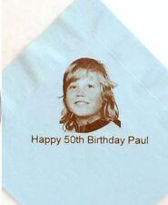 Decoración y menaje sin marca de papel de cumpleaños infantil para mesas de fiesta