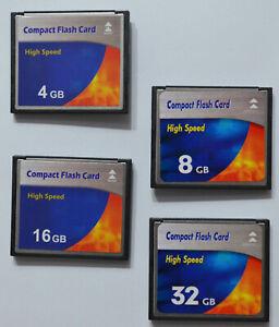 Speicherkarte Compact Flash CF Karte 4 GB 8 GB 16 GB 32 GB 64 für Digital Kamera
