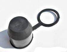 Gancho de remolque towball Suave Tapa De Plástico Cubierta Negro Bola de remolque tow-Bola Remolque proteger coche