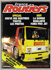 FRANCE ROUTES ROUTIERS N°  39  AVEC POSTER CAMION 1984 TBE