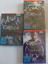 Grimm - Staffel 1 + 2 + 3 Sammlung - Mystery Crime, 66 Episoden, David Giuntoli