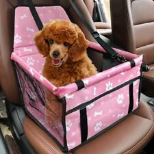 New listing Car Seat For Dog Pet Cat Booster Travel Box Bag Hammock Basket Carrier Chair Us