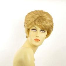 Perruque femme courte blond clair doré CLEMENTINE LG26