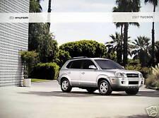 2007 Hyundai Tucson SUV new vehicle brochure