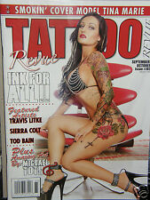 Tattoo Revue #165  Tina Marie {cover-girl}     2013 magazine new/unread/no-label