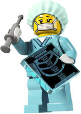 Lego minifig series 6 - doctor / surgeon / nurse with xray