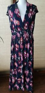 Sleeveless Floral Maternity Dress Isabel Maternity by Ingrid & Isabel™ Navy XXL