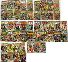 Conan The Barbarian Marvel Comics Group Comic Book  Lot of 49 1977