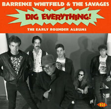 Barrence Whitfield and The Savages : Dig Everything!: The Early Rounder Albums
