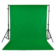 GREEN COLOR SCREEN CHROMAKEY BACKDROP MUSLIN VIDEO PHOTO BACKGROUND 6 x 9 Ft.